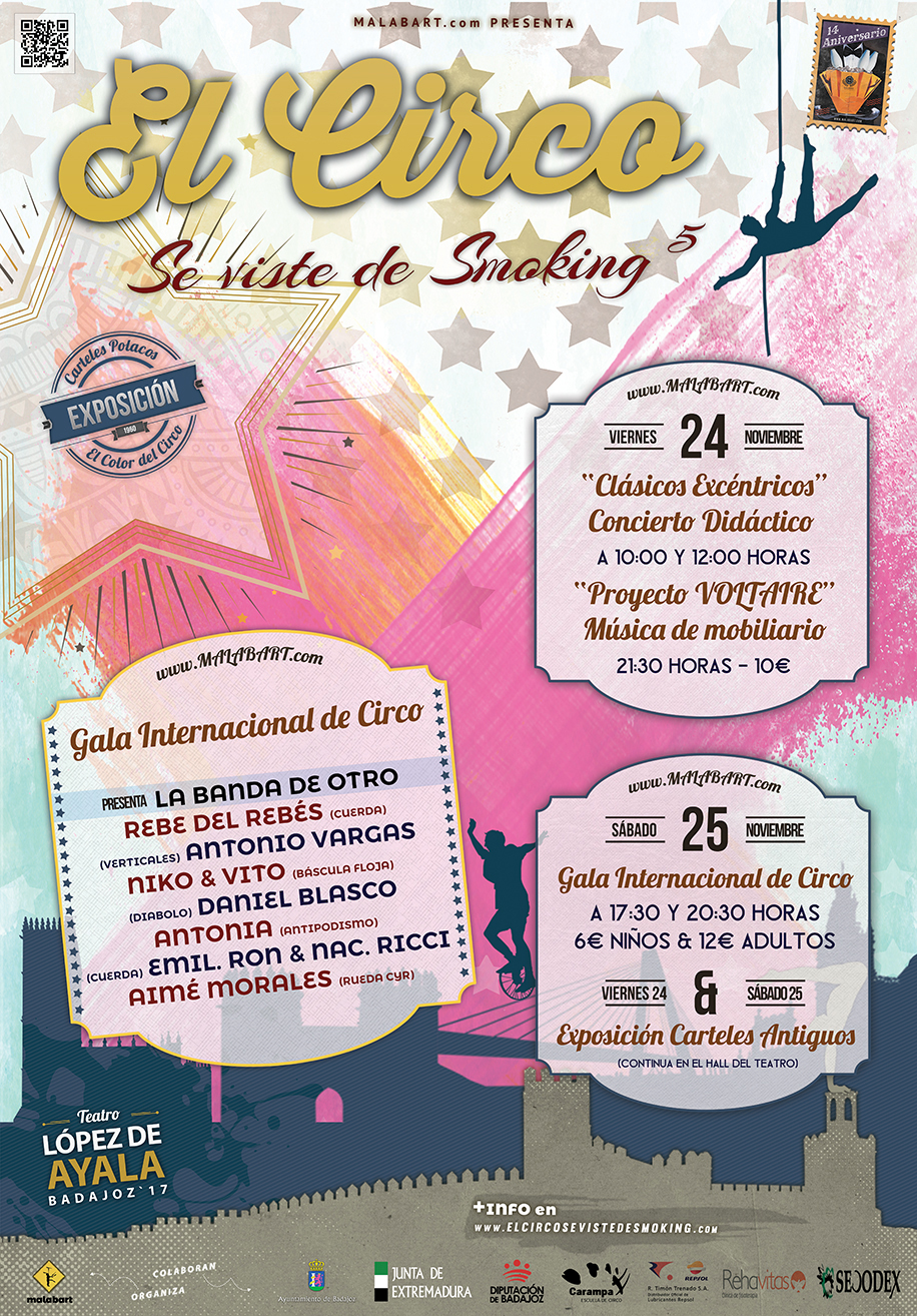 El Circo se viste de Smoking 2017